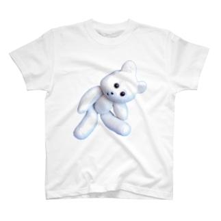 首をかしげる熊吉 T-shirts