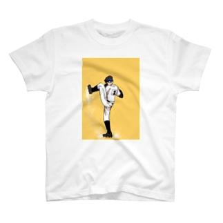 ピッチャー T-shirts