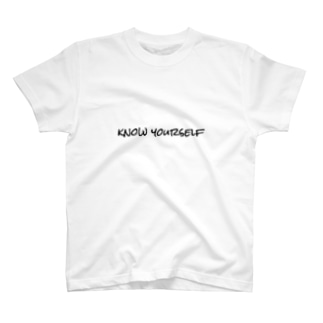 know yourself 身の程を知れ T-shirts