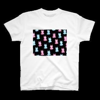 イソ(ベ)マスヲのほねくま T-shirts