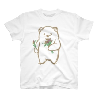 優しそうなくま T-shirts