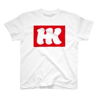 HKロゴ01 T-shirts