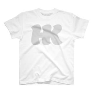 HKロゴ04 T-shirts