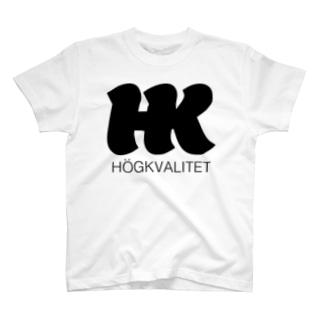 HKロゴ03 T-shirts