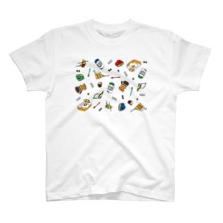 【片面T】つきみさんの おてつだい T-shirts