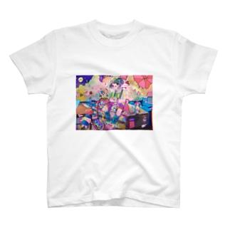 ゆめかわいいまち T-shirts