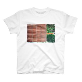 レンガと安全ぱしら T-shirts