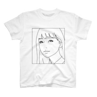 ロングヘアー T-shirts
