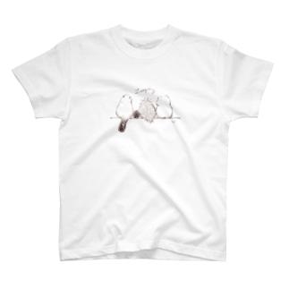 ずんぐり〜ずの後ろ姿 T-shirts
