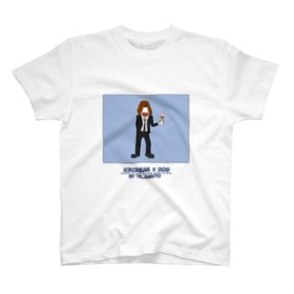 icecream×dmg T-shirts
