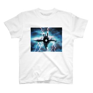 全知の裁き T-shirts