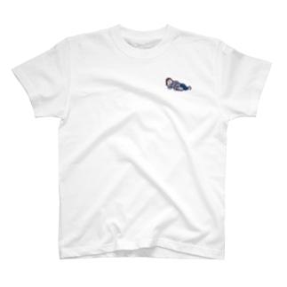 ネコと寝る T-shirts