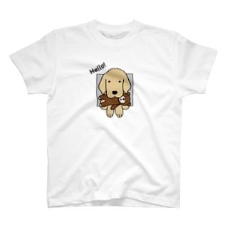 ハロー!(両面) T-shirts