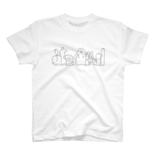 動物たち(明るい色推薦) T-shirts