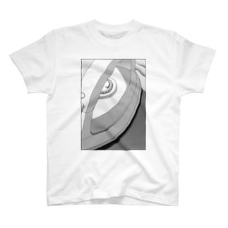 モノクロアイロン T-shirts