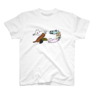 猫ねこネコ T-shirts