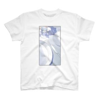 お皿 Tシャツ