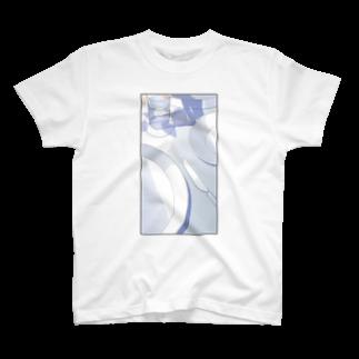植田たてりのお皿 T-shirts