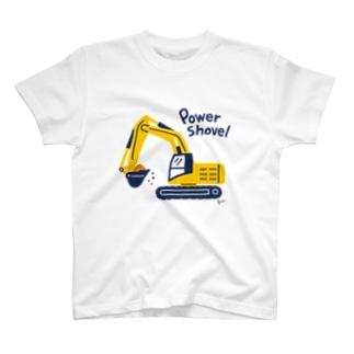 Power Shovel T-shirts