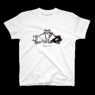 hadaconeko shopの組み立て体操 T-shirts T-shirts