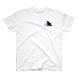 カラスの行水 T-shirts