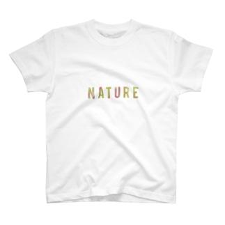 NATURE T-shirts