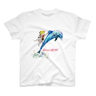 SAMURAI BOY イルカ T-shirts