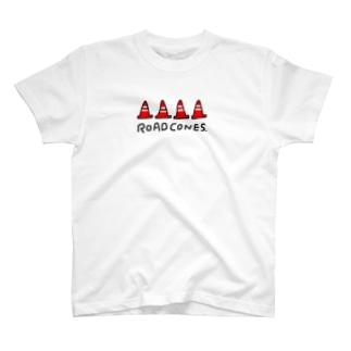 ROAD CONES T-shirts