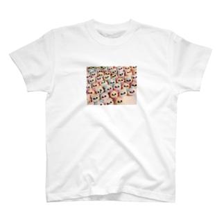 くまのむれ T-shirts