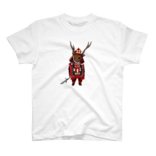 武将シリーズ、チョコラブバージョン T-shirts