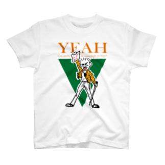 フレディ・イエイさん T-shirts