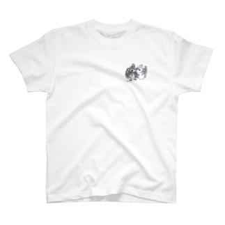 なかよしチンチラ T-shirts