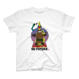 NO FUTURE(目隠し) T-shirts