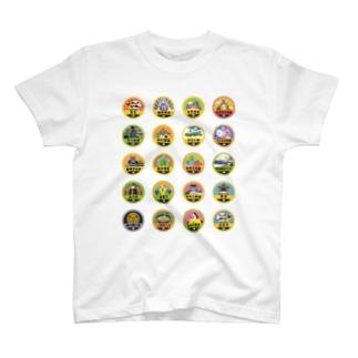 バッジあれこれ【テスト】 T-shirts