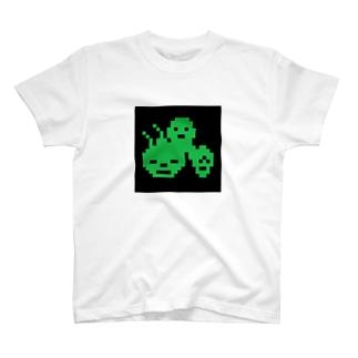 公式ゴミ屋敷ガイドブック ドットシャツ T-shirts