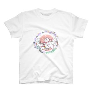 おこにここんこん T-shirts