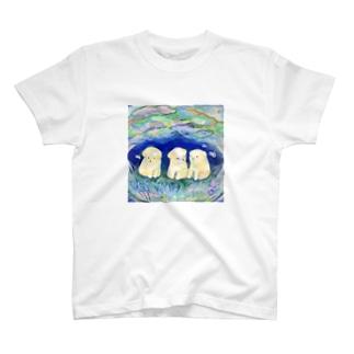 夢見る仔犬 T-shirts