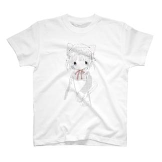 ひとりで Tシャツ