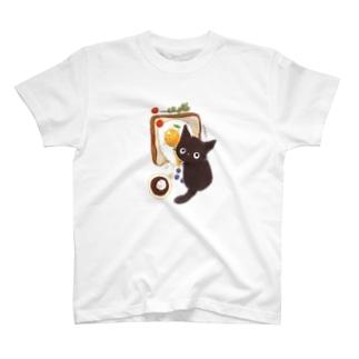 いたずらクロ T-shirts