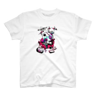 クレイジー闇うさぎ(お薬) T-shirts