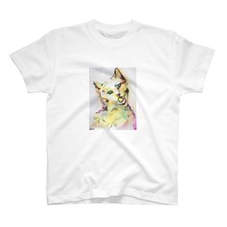 ポップネコ。 T-shirts