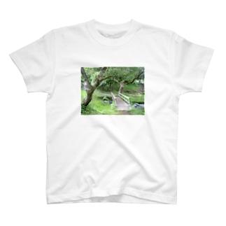 続く道 T-shirts