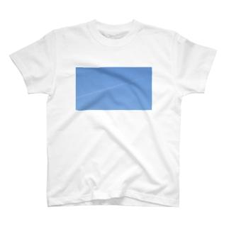 去年の2月の飛行機雲 T-shirts