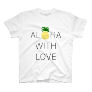 ALOHA PINEAPPLE T-shirts
