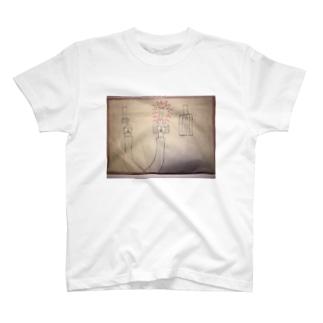 真ん中がブレーキ‼︎ T-shirts