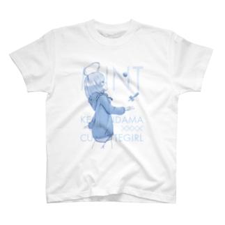 けん玉美少女ミント T-shirts