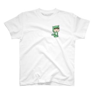 お座りむっちゃん新 Tシャツ