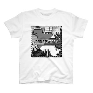 天 BADFACTORY 悪 Tシャツ