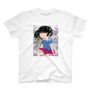 休み時間の向こう側 T-shirts