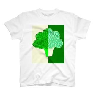 【ブロカリ】前面背面あり T-shirts